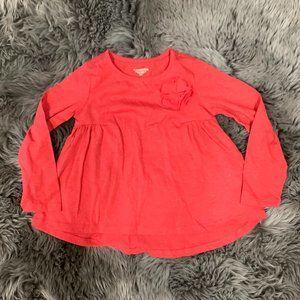 Toughskins Girls Long Sleeve Shirt: Size S